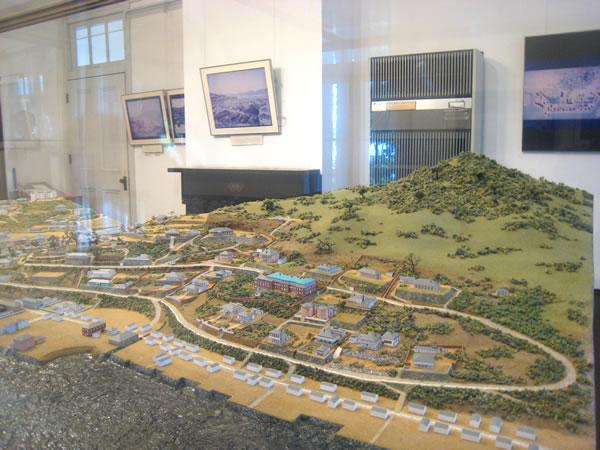 長崎外国人居留地模型