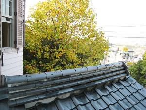 洋館独特の屋根瓦